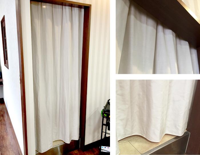 間仕切りカーテン 事例5