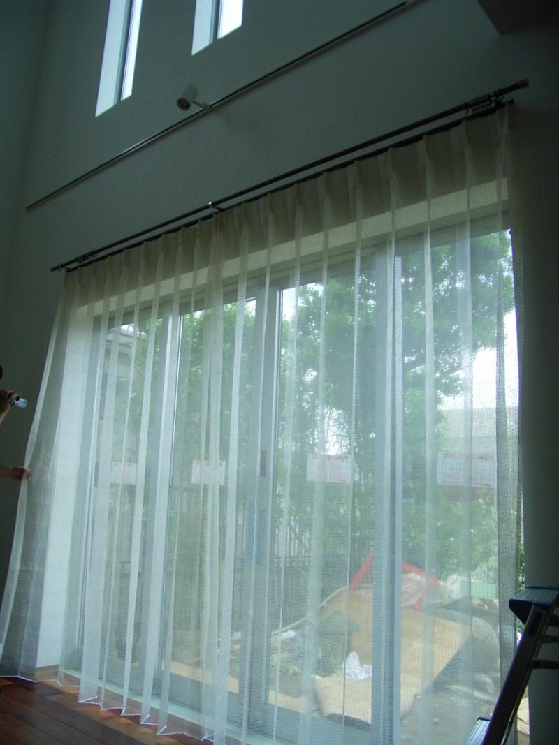 秦 美穂子 のブログ-戸建のカーテン2